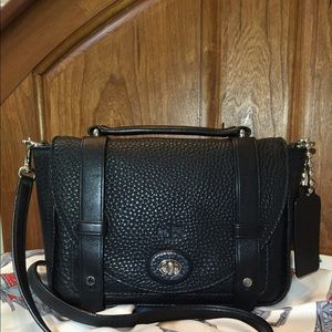 Coach Bleecker mini Brooklyn in black
